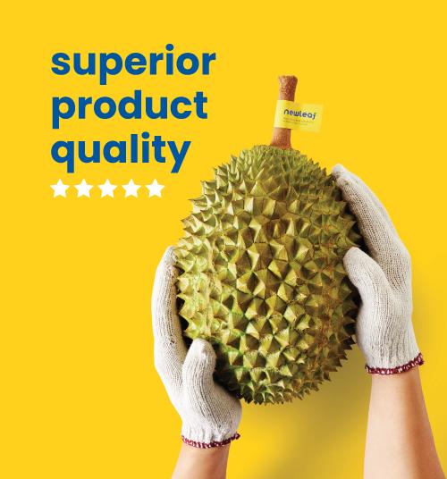 Newleaf durian distributor